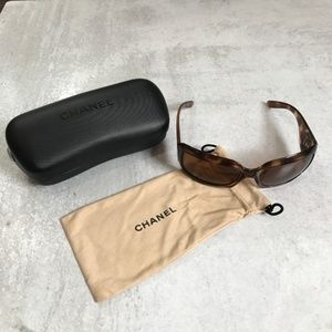 Chanel Mother Of Pearl Tortoise Shell Sunglasses